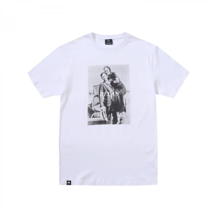 "HELAS PARIS - ""BONNIE AND CLYDE T-SHIRT"" (WHITE)"