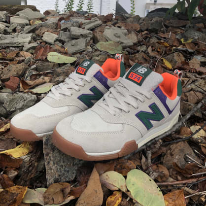 New Balance All Coasts 574 Hiker (Bone/Green)