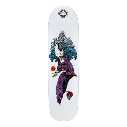 Welcome Skateboards Tonight I'm Yours on Son of Planchette Skateboard Deck White - 8.38""