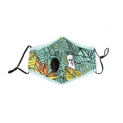 Rip N Dip Nermal Leaf Ventilator Face Mask - Green