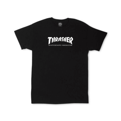 THRASHER Youth Skate Mag Tee Black