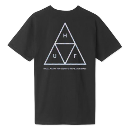Huf Hologram T-Shirt - Black