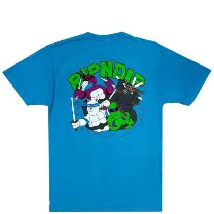 Ripndip Teenage Mutant T-Shirt - Blue