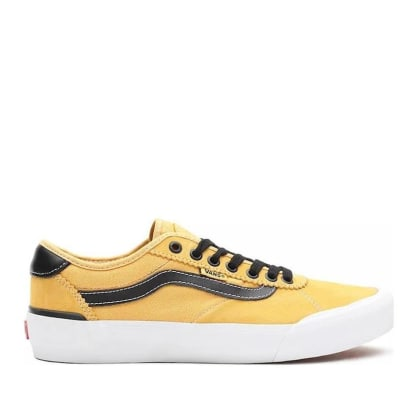 Vans Chima Pro 2 Skate Shoes - Gold / Black