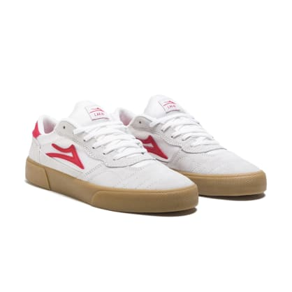 Lakai Cambridge - White / Red Suede