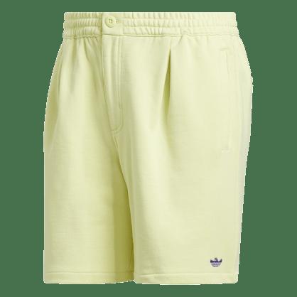 adidas Shmoo Terry Shorts - Yellow Tint / Purple