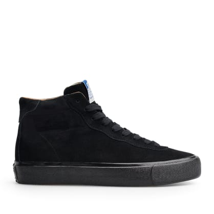 Last Resort AB VM001 Suede Hi Skate Shoes - Black / Black