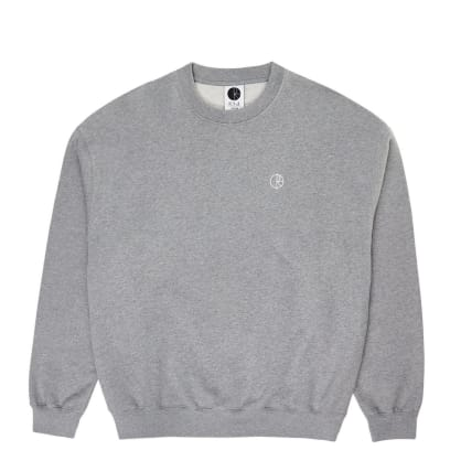 Polar Skate Co Team Crewneck - Heather Grey