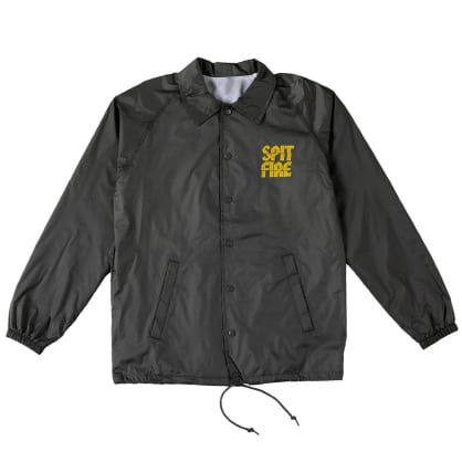 Spitfire - Clean Cut Jacket Black/Yellow