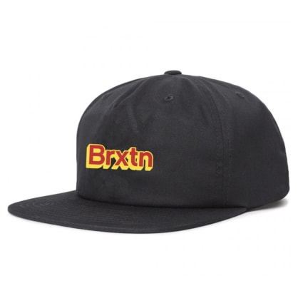 Brixton Gate VI MP Snapback Cap black