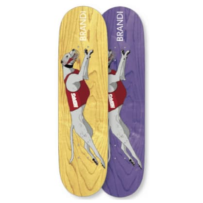 Hopps Brandi Greyhound Deck 8.5