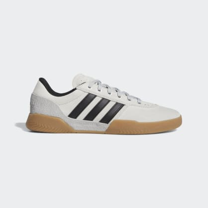 Adidas City Cup Shoes - Grey 2/Core Black/Gum 4