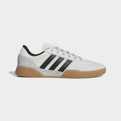 Adidas City Cup Shoes - Grey 2/Core Black/Gum 4