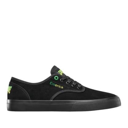 Emerica x Creature Wino Standard Skate Shoes - Black