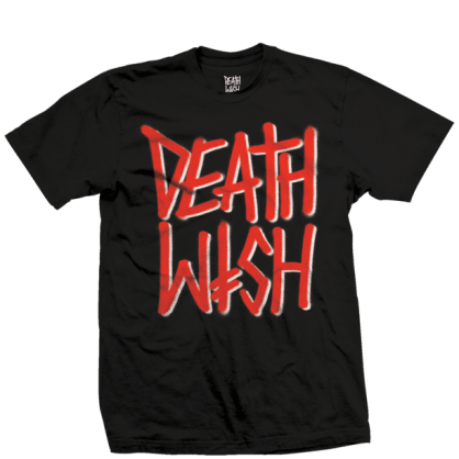 Deathwish Deathstack OG T-Shirt - Black / Red