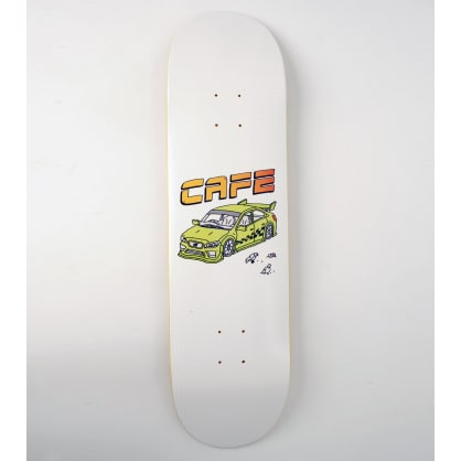 Skateboard Cafe Race Car Skateboard Deck - 8.75""