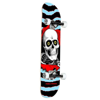 Powell Peralta Ripper One Off 242 Blue Complete Skateboard - 8.00