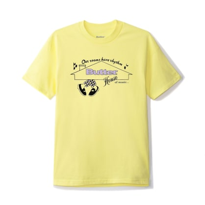 Butter Goods House of Music T-Shirt - Banana