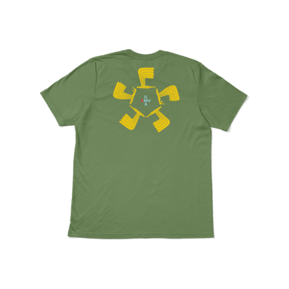 UMA WINGWING TEE - LIGHT OLIVE