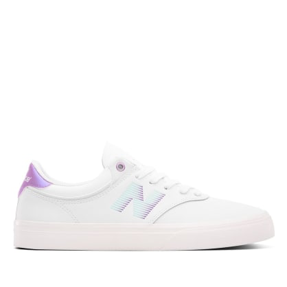 New Balance Numeric Jordan Taylor 255 Skate Shoe - White / Purple