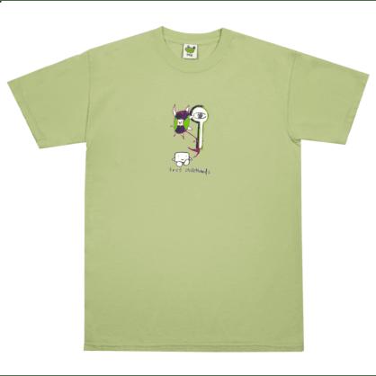 Frog Skateboards Tree Spirit T-Shirt - Soft Green