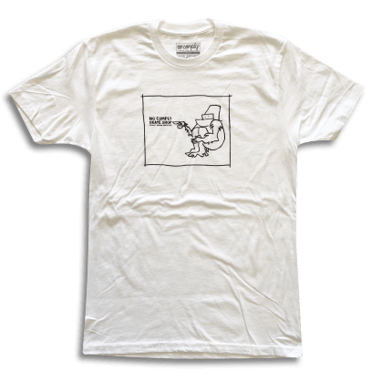 No-Comply x Mark Gonzales Shirt White