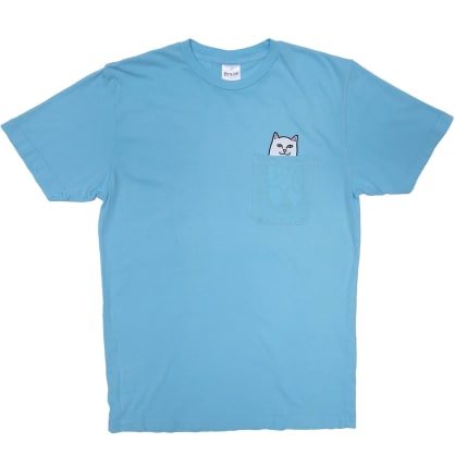 Ripndip Lord Nermal Pocket T-Shirt - Baby Blue