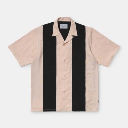 Carhartt WIP Lane Shirt - Pink / Black