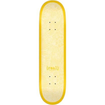 """Real Flowers Renewal Deck Yellow - 8.38"""""""
