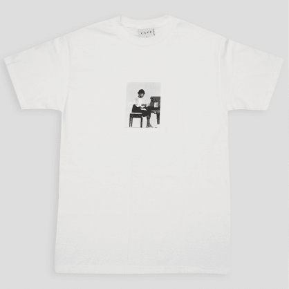 Skateboard Cafe Alice T-Shirt White