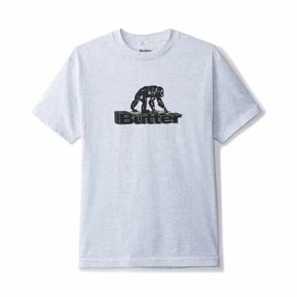 Butter Goods Primate T-Shirt - Ash Grey