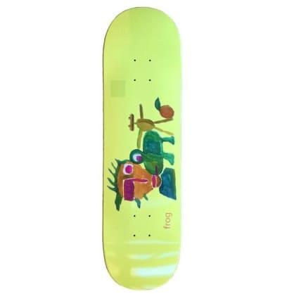 """Frog Skateboards Painting Skateboard Deck - 8.6"""""""