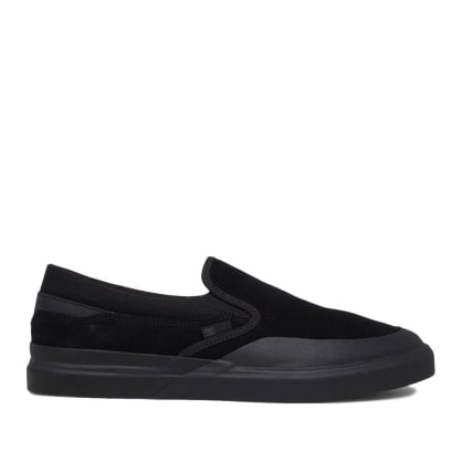 DC Infinite Slip-On S Skate Shoes - Black / Black