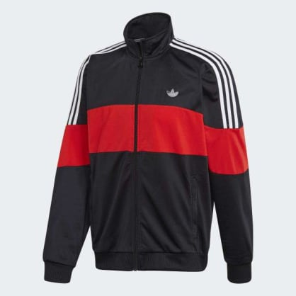 Adidas BX-20 Track Jacket (Black/Red)