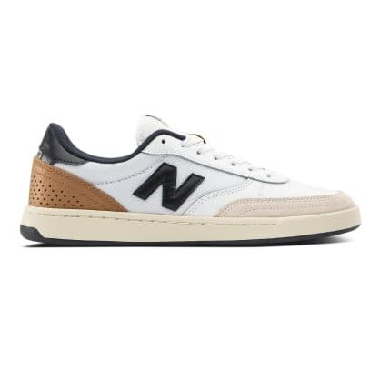 New Balance Numeric 440 Skateboarding Shoes - White/Navy