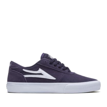 Lakai Manchester Suede Skate Shoes - Purple