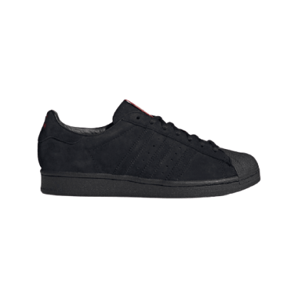 Adidas x Thrasher- Superstar ADV (Core Black/Scarlet/Gold Metallic)