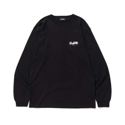 "X-LARGE - ""XLARGExD*FACE D*DOG LONG SLEEVE T-SHIRT"" (BLACK)"