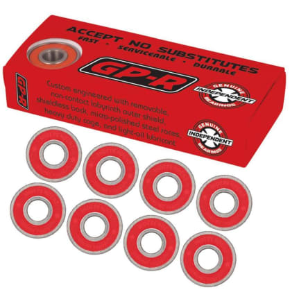 Independent Genuine Parts Skateboard Bearings Reds