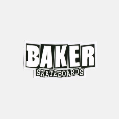 Baker Skateboards Brand Logo Stickers