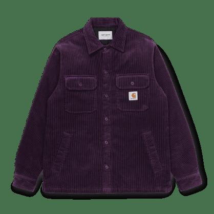 Carhartt WIP Whitsome Shirt Jacket - Boysenberry