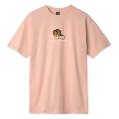 Huf - Rat Race S/S T-Shirt - Coral Pink