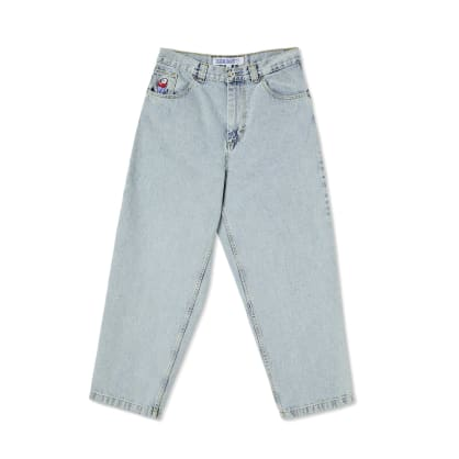 Polar Skate Co Big Boy Jeans - Light Blue