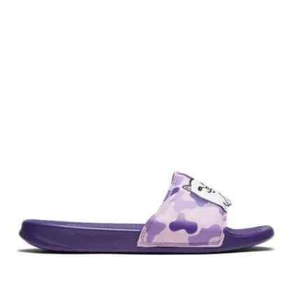 Ripndip Lord Nermal Slides - Purple Camo