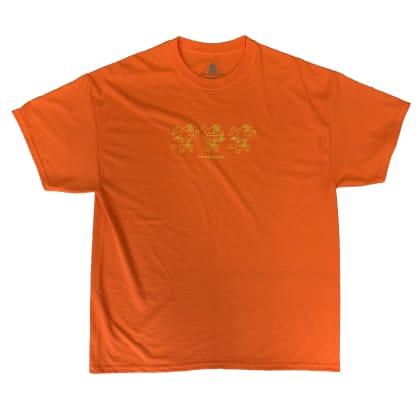 "Blast ""Fluro Orange Mascot Doodle"" tshirt"
