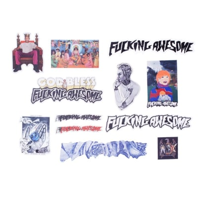 Fucking Awesome FA Sticker Pack 2