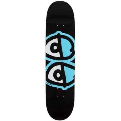 Krooked Deck Team Eyes Black 8.06 IN