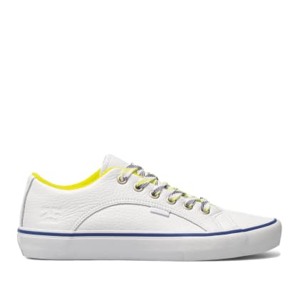 Vans x Quartersnacks Lampin Pro Skate Shoes - White