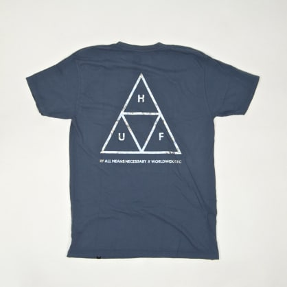 Huf - Hologram T-Shirt - Blue Mirage