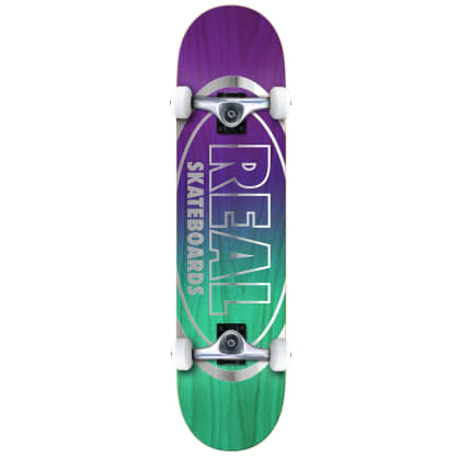 """Real Oval Outliners Complete Skateboard - 7.75"""""""